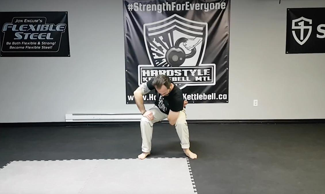 Internal Rotation Shoulder Stretch