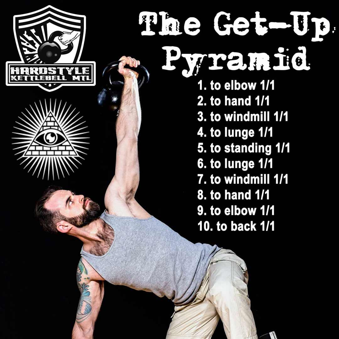 The Get-Up Pyramid