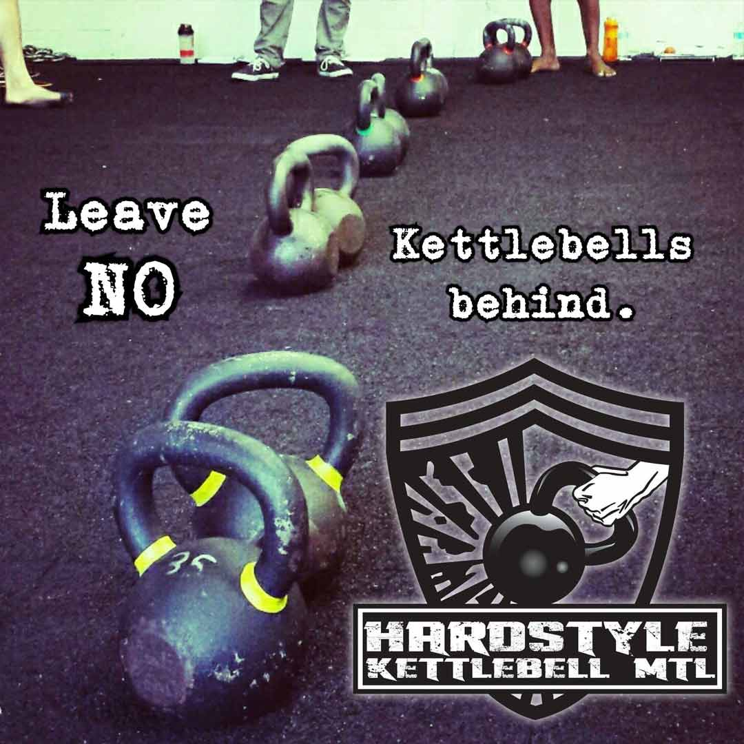 No Kettlebell Left Behind
