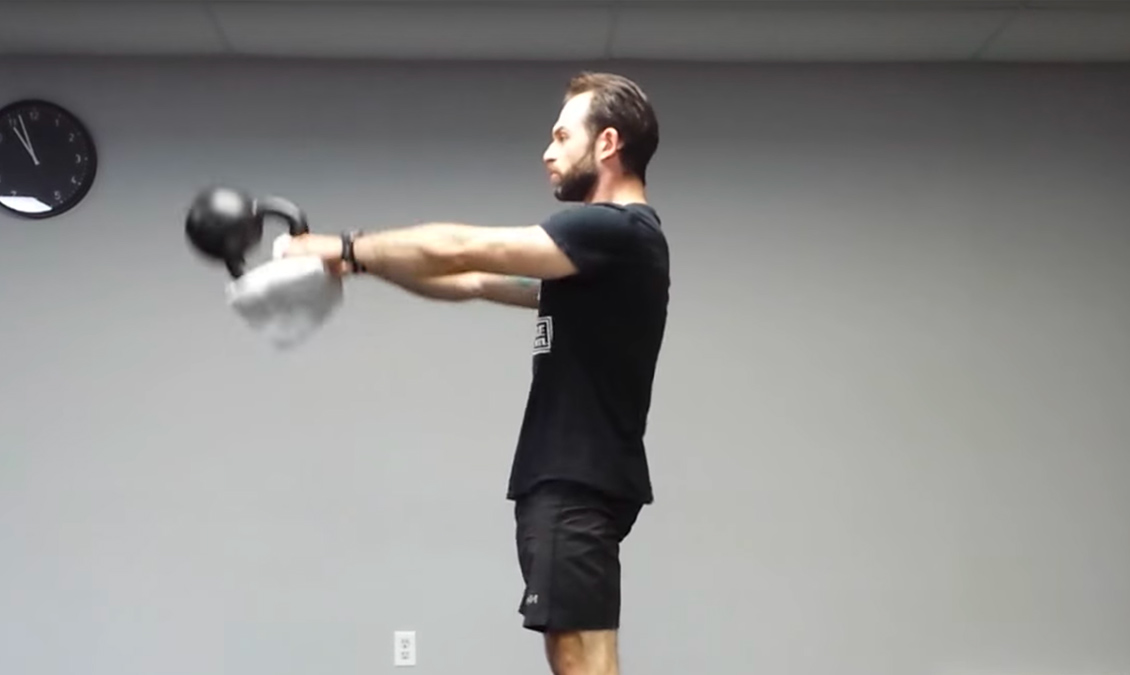 Timing the Kettlebell Swing