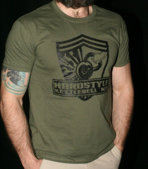 Hardstyle Kettlebell Logo T-Shirt (Round Neck)
